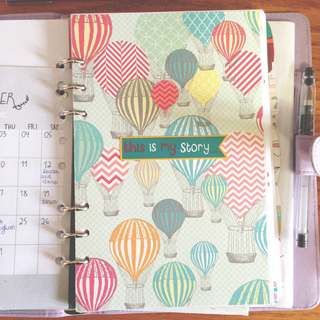 paper trail diary planner 2015