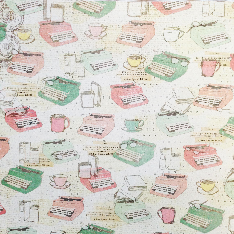 Scrapbook paper books - Prima coffee break collection