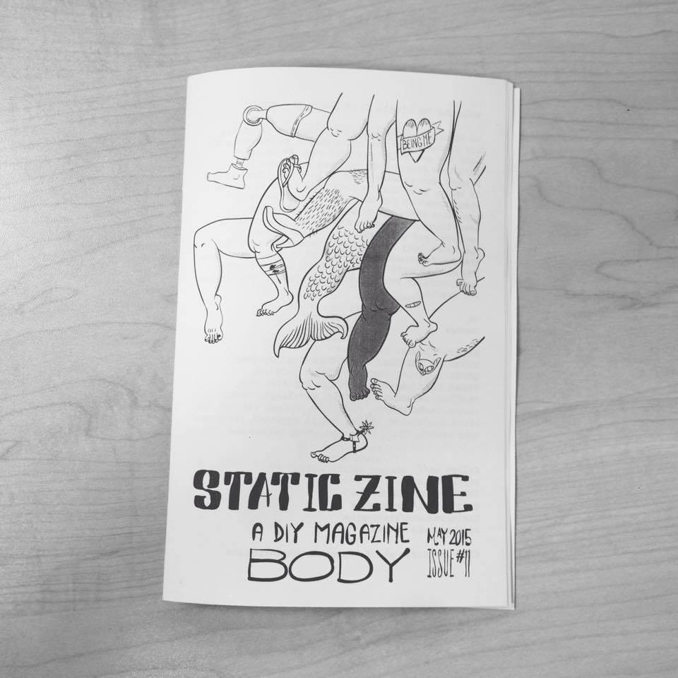static zine issue 11 body