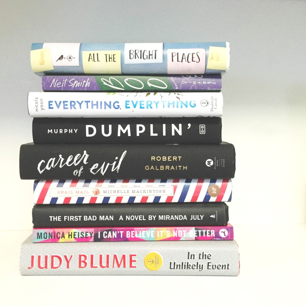 top 10 2015 books paper trail diary