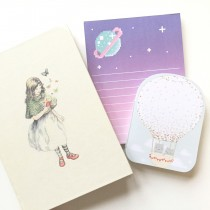 dreamy stationery paper trail diary
