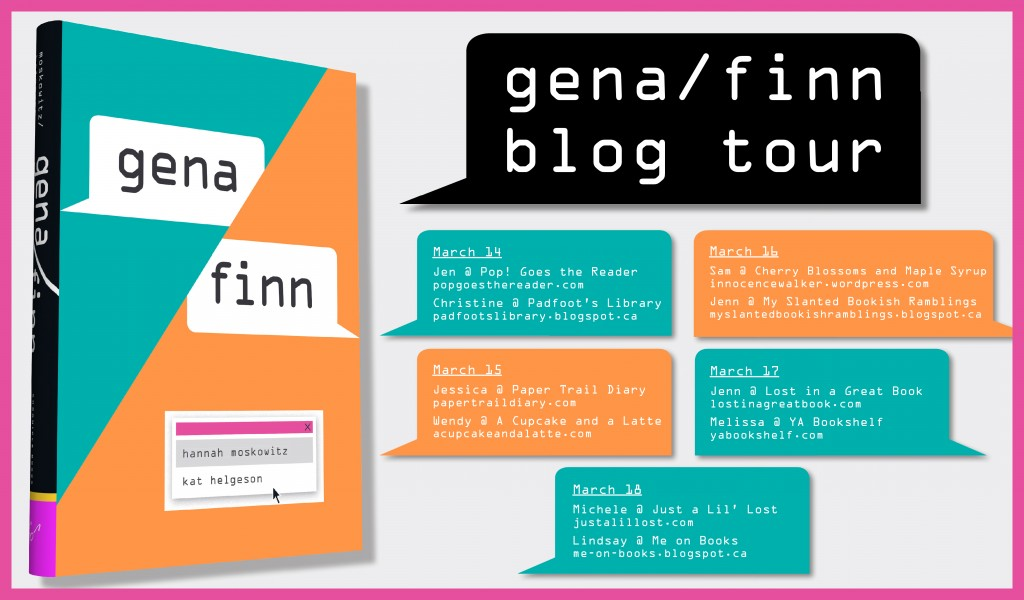 Gena Finn Blog Tour