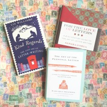 lost art of letter writing books via the paper trail diary