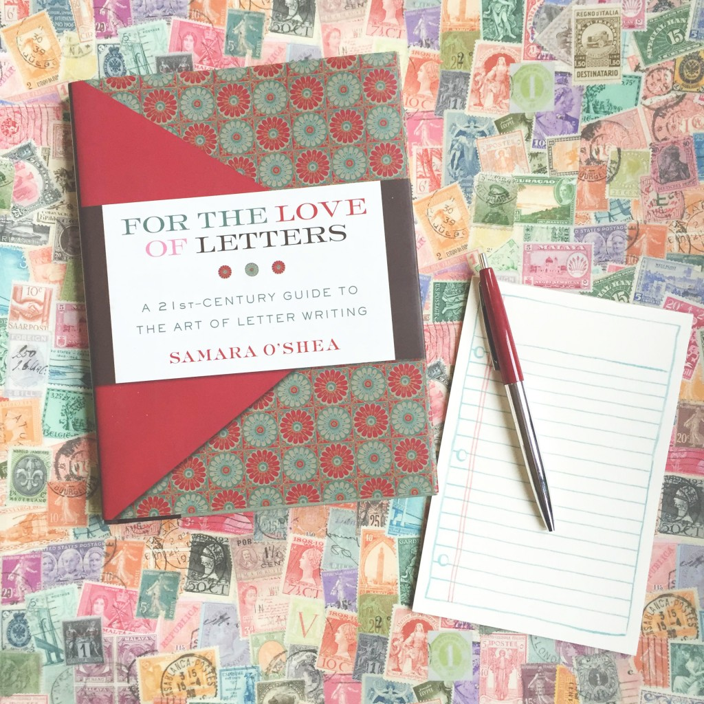 for the love of letters book via the paper trail diary
