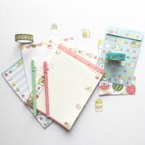 sumikko gurashi stationery via paper trail diary