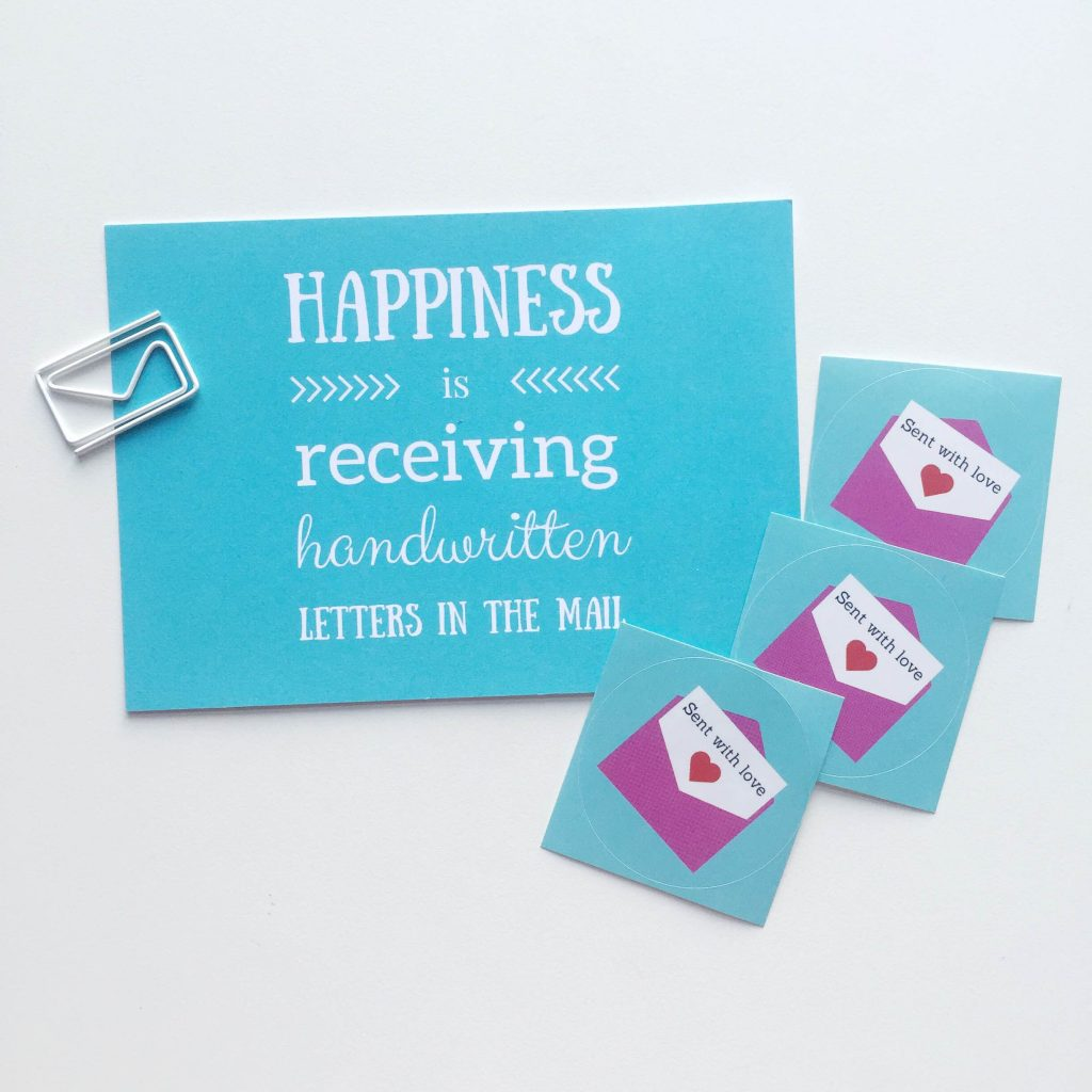 thoughtful types stationery via paper trail diary