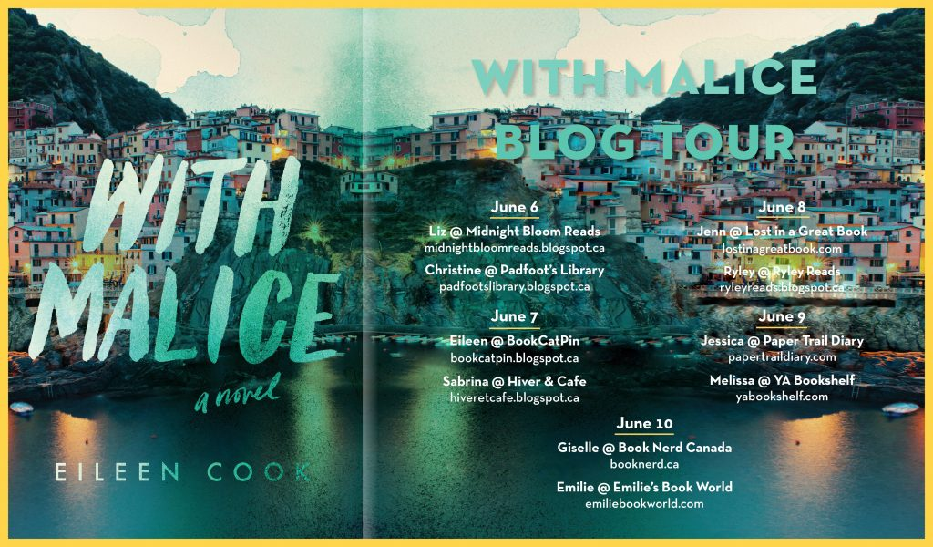 With Malice Blog Tour
