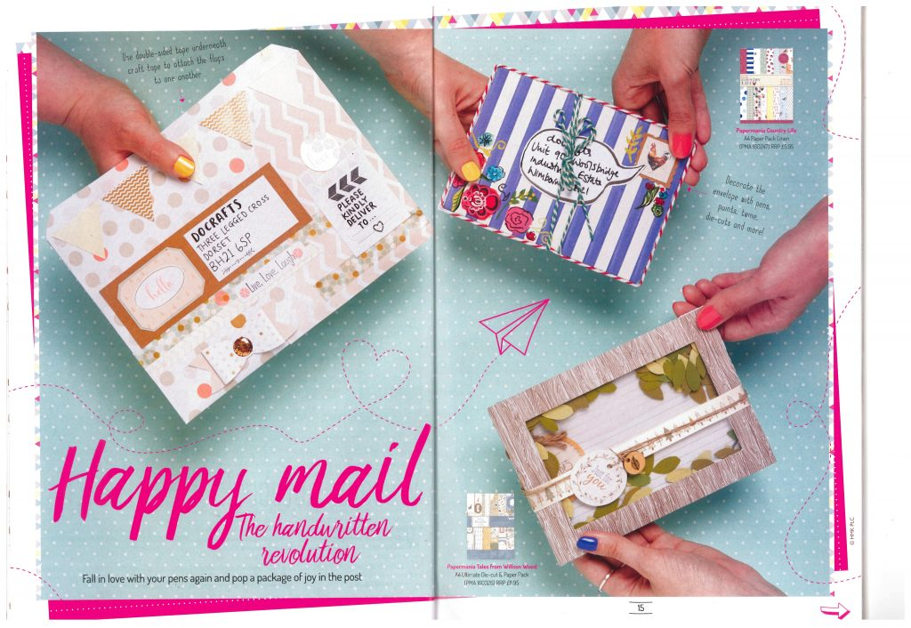 do crafts creativity magazine happy mail via paper trail diary