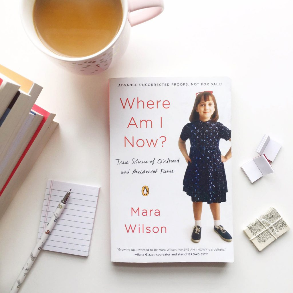 where am i now mara wilson via paper trail diary