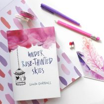 under rose-tainted skies via paper trail diary