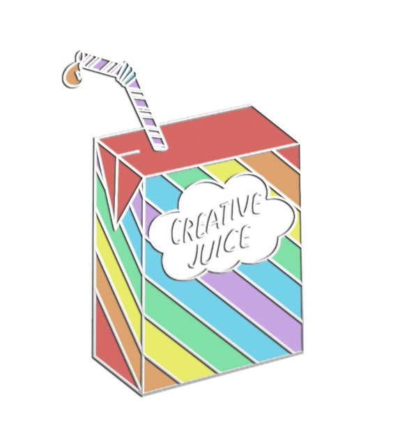 creative juice pin