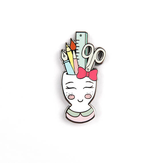 pen cup pin