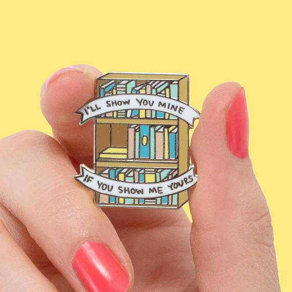 bookshelf pin