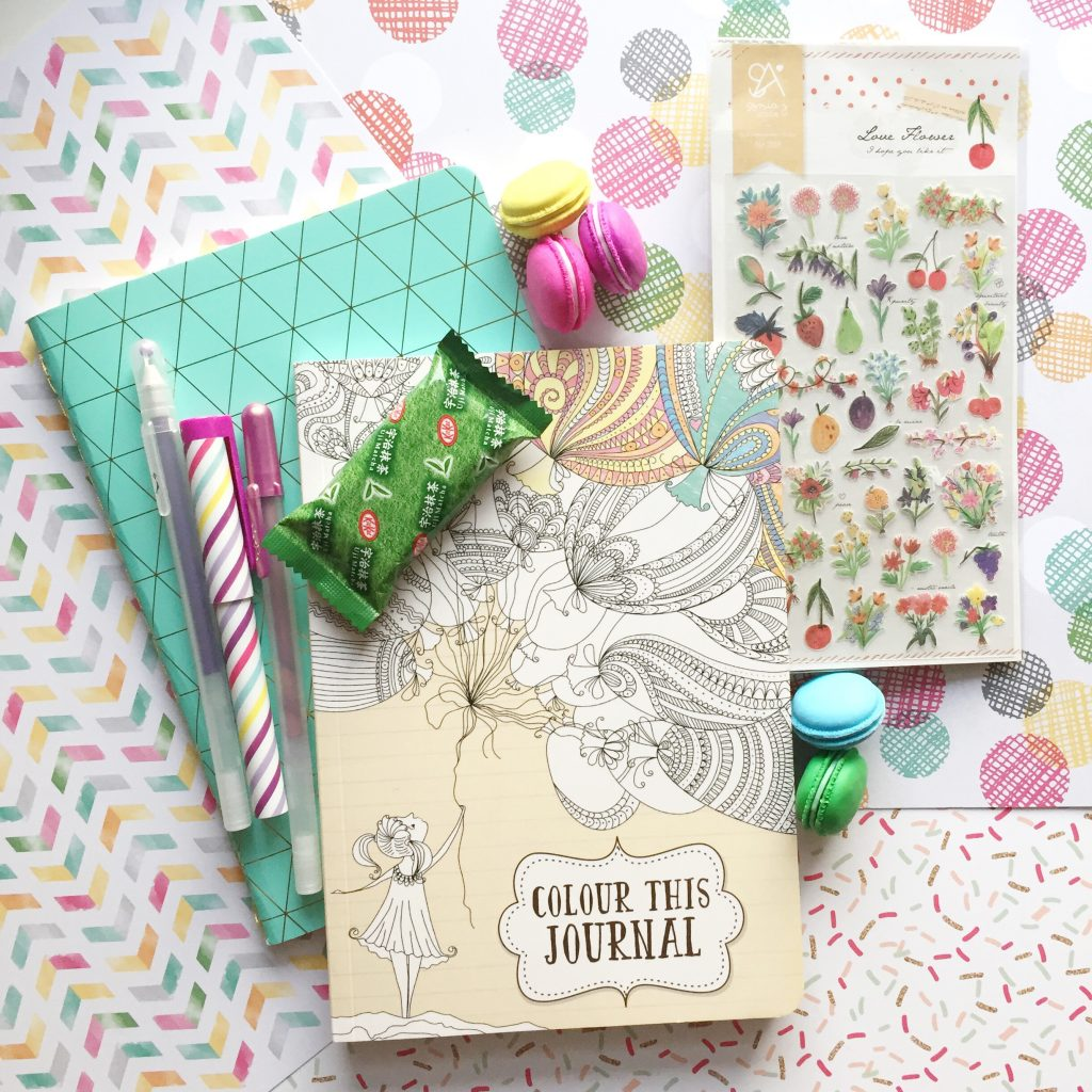 paper trail diary notebook and pen swap
