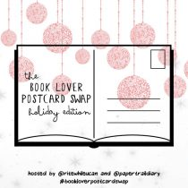 book lover postcard swap holiday 2017