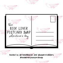 Book Lover Postcard Swap Valentine's Round 2018