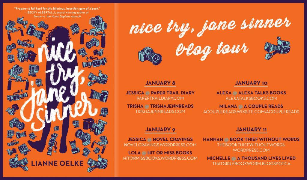 Nice Try Jane Sinner Blog Tour
