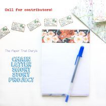 Chain Letter Short Story Project 3 paper trail diary