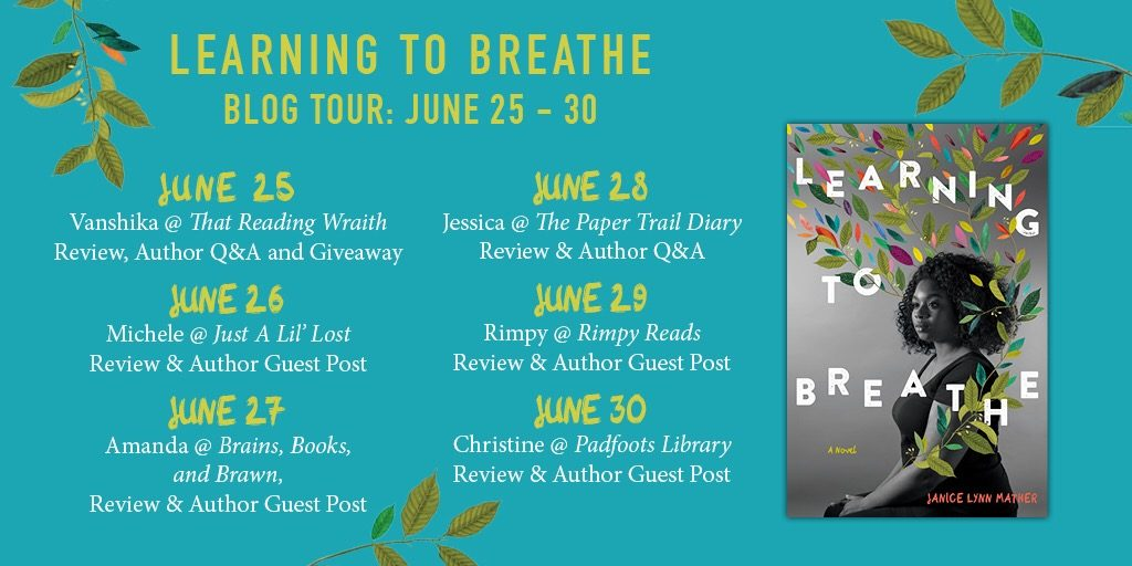 Learning to breathe blog tour