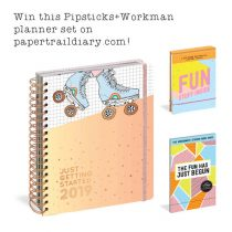 pipsticks workman planner paper trail diary