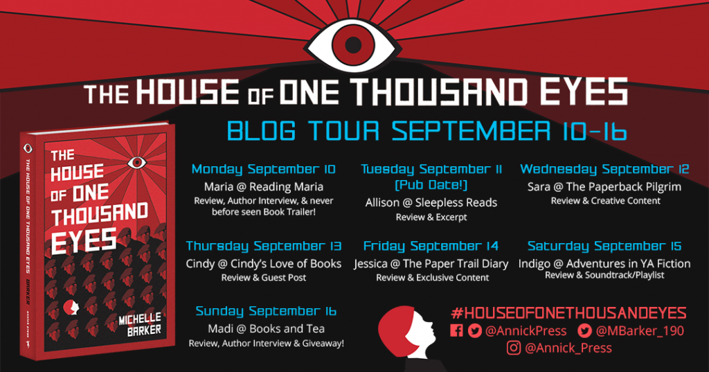 house of a thousand eyes blog tour